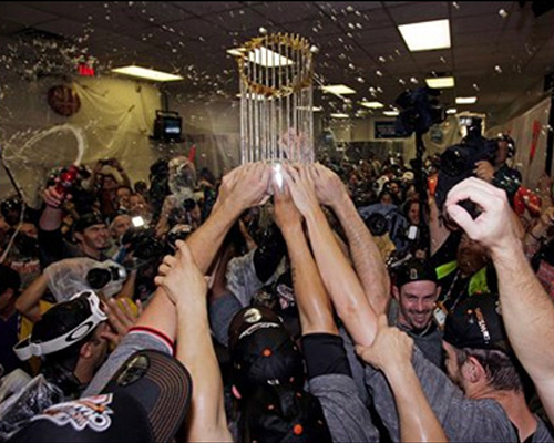 San Francisco Giants onto the post season